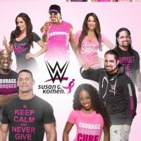WWE Teams with Susan G. Komen for Third Annual Breast Cancer Awareness Campaign