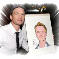 FREEZE FRAME: HEDWIG's Neil Patrick Harris Unveils Caricature at Sardi's