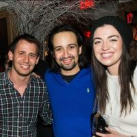 Photo Flash: HAMILTON Celebrates First Preview at the Public with Lin-Manuel Miranda, Laura Osnes, Brian d'Arcy James and More