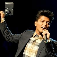 Bruno Mars to Take the 2013 MTV EMA Stage in Amsterdam