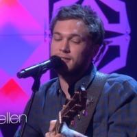 VIDEO: Phillip Phillips Performs New Single 'Raging Fire' on ELLEN