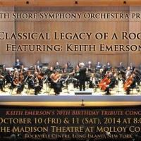 BWW PREVIEW: THE CLASSICAL LEGACY OF A ROCK STAR - Rock Legend Keith Emerson Performs with South Shore Symphony