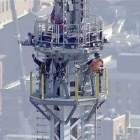VIDEO: TODAY Gives Live Look as Final Spire Completes World Trade Center