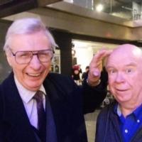 Photo Flash: The Amazing Kreskin Meets CHURCHILL Off-Broadway