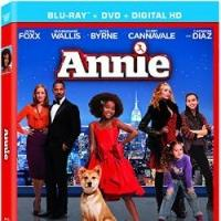 ANNIE 2014 Movie Remake Blu-ray Cover Art & New Release Date Revealed, 3/17