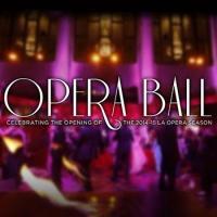 The LA Opera Celebrates Opening of New Season with the OPERA BALL Tonight