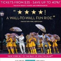 Tickets from $35! Don't Miss Laura Benanti and the Rockettes in the Spring Spectacular
