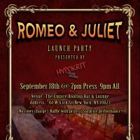 Hypokrit Theatre Company Launches Inaugural Season with ROMEO AND JULIET Tonight