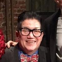 Lea DeLaria Poses For Candid Photo Backstage At KINKY BOOTS