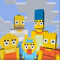 THE SIMPSONS Headed to Minecraft on Xbox
