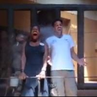 STAGE TUBE: Audra McDonald and Will Swenson Complete the Ice Bucket Challenge - With An Elephant!