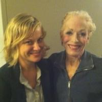 Photo Flash: Amy Poehler Visits Holland Taylor at ANN!