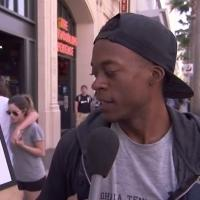 VIDEO: People Comment on Fake Hillary Clinton Campaign Logos on JIMMY KIMMEL