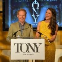 Sutton Foster, Jesse Tyler Ferguson Announce 2013 TONY AWARD Nominations