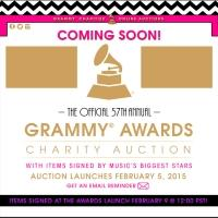 GRAMMY Charity Online Auctions Offer Memorabilia, VIP Events to Benefit MusiCares thru 2/19