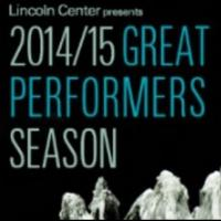 Lincoln Center Announces 2014-15 White Light Festival and 'Great Performers' Series Updates