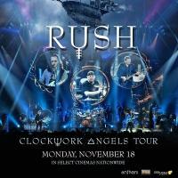 RUSH: Clockwork Angels Tour to Rock U.S. Cinemas 11/18