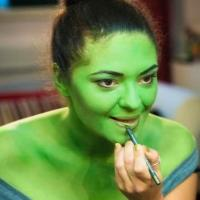 Photo Flash: First Look - Jennifer DiNoia Goes Green for West End Debut in WICKED!