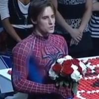 STAGE TUBE: Reeve Carney Takes Final Bow as SPIDER-MAN