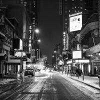 Photo Coverage: Broadway Shuts Down in Preparation for Winter Storm Juno! Photos