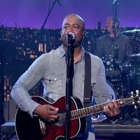 VIDEO: Hootie and the Blowfish Perform 'Hold My Hand' on LETTERMAN