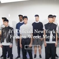 CFDA Makes New York Men's Fashion Week Official