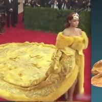 VIDEO: JIMMY KIMMEL Offers Practical Uses for Rihanna's Met Gala 'Dress Blanket'