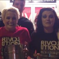 STAGE TUBE: Cast of 'REVOLUTION IN THE ELBOW' Gets Doused for ALS!