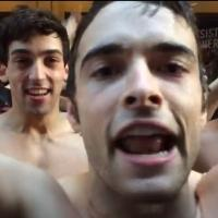 STAGE TUBE: Corey Cott and the Cast of NEWSIES Accept Ice Bucket Challenge from PIPPIN!