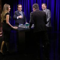 VIDEO: Sofia Vergara & James Marsden Play 'Catchphrase' on TONIGHT SHOW