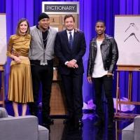 VIDEO: Big Sean, LL Cool J & Rose Byrne Play Pictionary on TONIGHT SHOW