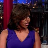 VIDEO: Michelle Obama Talks Raising Teens in the White House on LETTERMAN