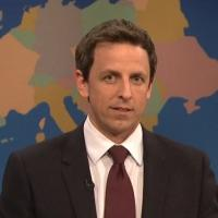 Highlights from SNL's Weekend Update with Seth Meyers, 4/13