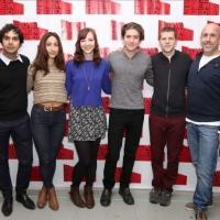 FREEZE FRAME: Cast of Jesse Eisenberg's THE SPOILS Meets the Press!