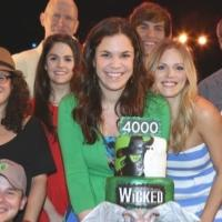 Photo Coverage: Lindsay Mendez, Derek Klena & Cast of WICKED Celebrate 4,000th Performance!