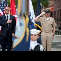 Chef Robert Irvine Recognized by U.S. Navy as Honorary Chief Petty Officer