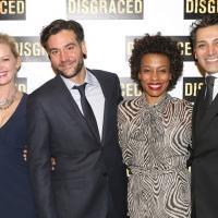 Photo Coverage: Mol, Radnor, Pittman, Dhillon & More Celebrate Opening Night of DISGRACED!