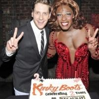 Photo Flash: KINKY BOOTS Cast Celebrates 2 Years on Broadway!