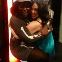 Photo Flash: ORANGE IS THE NEW BLACK's Danielle Brooks Visits HERE LIES LOVE