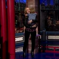 VIDEO: John Travolta's Son Makes Late Show Debut on DAVID LETTERMAN