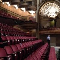 Photo Flash: First Look at Palace Theatre's Stadium-Style Seating for HOLLER IF YA HEAR ME