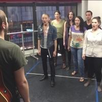 Photo Flash: Sneak Peek at Cast of Beautiful Soup's LIFT in Rehearsal
