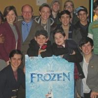 Photo Flash: NEWSIES Casts Gets FROZEN at NYC Screening