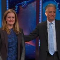 VIDEO: Samantha Bee Bids Tearful Goodbye to THE DAILY SHOW