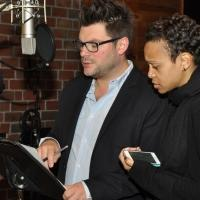 Exclusive Photo Coverage: In the Recording Studio with PIPPIN Cast for Carols For A Cure!