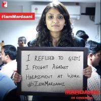 Rani Mukerji's MARDAANI Film Sweeps the Country with #IamMardaani Movement