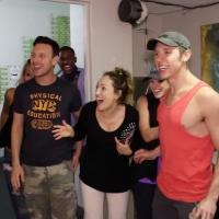 BWW TV: BROADWAY QUICK CHANGE with Robert Hartwell- In the WICKED Green Room!
