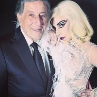Lady Gaga Posts Pic & Comments On New CHEEK TO CHEEK Tour Kick-Off With Tony Bennett