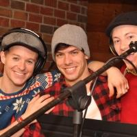 Exclusive Photo Coverage: ON THE TOWN Company Gets Festive for Carols For A Cure