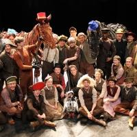 Photo Flash: Joey and the Cast of WAR HORSE Take Part in 'Wear a Hat' Day for Brain Tumour Research